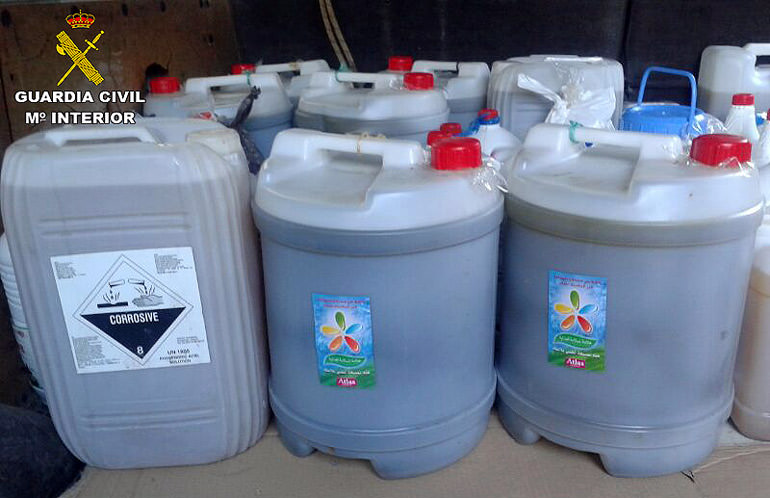 police-say-smuggled-moroccan-olive-oil-found-in-toxic-goods-containers
